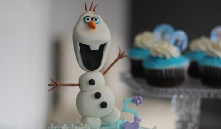 Olaf ….. The Frozen Fever